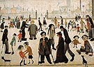 The Cripples 1949 - L-S-Lowry