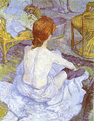 The Toilette 1896 - Henri De Toulouse-lautrec