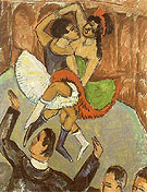 Negro Dance c1911 - Ernst Kirchner reproduction oil painting