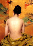 Back of  a Nude 1888 - William Merrit Chase reproduction oil painting
