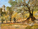 Olive Trees in Florence 1911 - William Merrit Chase reproduction oil painting