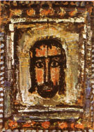 The Holy Face 1935 - George Rouault reproduction oil painting