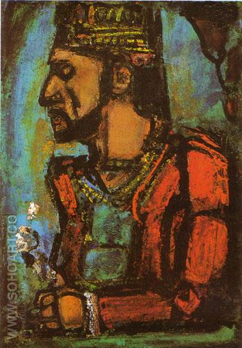 The Old King 1937 - George Rouault reproduction oil painting