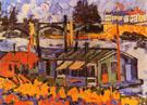 Les Bateaux Lavoirs 1906 - Maurice de Vlaminck