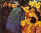 Christ Among the Children 1910 - Emile Nolde