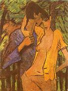 Lovers 1919 - Otto Mueller