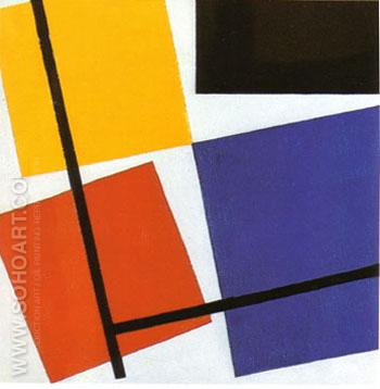 Simultaneous Counter Composition - Theo van Doesburg reproduction oil painting