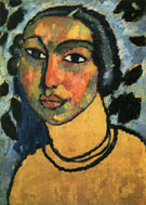 Jewish Maiden 1912 - Alexei von Jawlensky