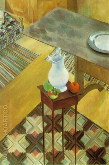 Interior 1926 - Charles Sheeler reproduction oil painting