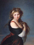 Hyacinthe Gabrielle Roland Countess of Mornington 1791 - Elisabeth Vigee Le Brun reproduction oil painting