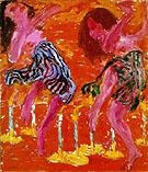 Candle Dancers 1912 - Emile Nolde