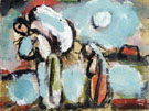 Peasant with Double Sack - George Rouault