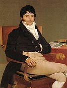 Philibert Riviere - Jean-Auguste-Dominique-Ingres reproduction oil painting