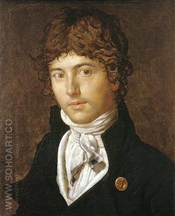 Pierre Francois Bernier 1800 - Jean-Auguste-Dominique-Ingres reproduction oil painting