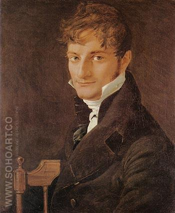 Monsieur Belveze Foulon 1805 - Jean-Auguste-Dominique-Ingres reproduction oil painting