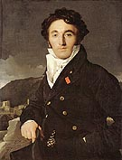 Charles Joseph Laurent 1811 - Jean-Auguste-Dominique-Ingres reproduction oil painting