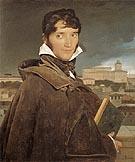 Francois Marius Granet 1809 - Jean-Auguste-Dominique-Ingres reproduction oil painting