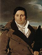 Joseph Antoine Moltedo 1810 - Jean-Auguste-Dominique-Ingres reproduction oil painting