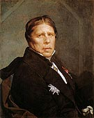 Self Portrait at the Age of Seventy nine 1859 - Jean-Auguste-Dominique-Ingres reproduction oil painting
