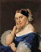 Madame J A D Ingres 1859 - Jean-Auguste-Dominique-Ingres