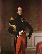 Ferdinand Philippe Louis Charles Henri Duc d Orleans 1842 - Jean-Auguste-Dominique-Ingres reproduction oil painting