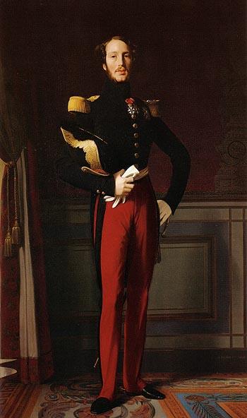 Ferdinand Philippe Louis Charles Henri Duc d Orleans 1844 - Jean-Auguste-Dominique-Ingres reproduction oil painting