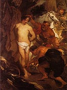 The Martyrdom of St Sebastian - Van Dyck