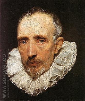 Cornelis van der Geest 1619 - Van Dyck reproduction oil painting