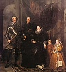 The Lomellini Family 1625 - Van Dyck reproduction oil painting