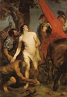 The Martyrdom of St Sebastian - Van Dyck reproduction oil painting