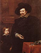 The Jeweller Pucci and his Son - Van Dyck