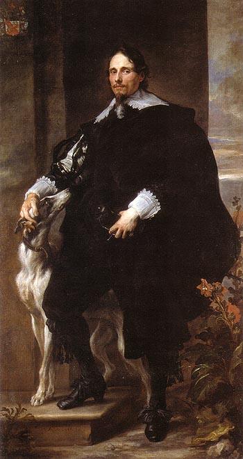 Philippe le Roy Seigneur de Ravels 1630 - Van Dyck reproduction oil painting