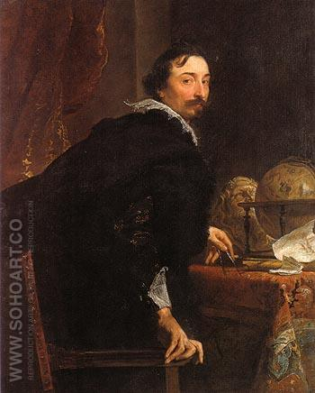 Lucas van Uffele - Van Dyck reproduction oil painting