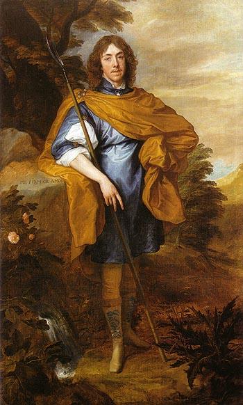 George Stuart Seigneur d Aubigny 1638 - Van Dyck reproduction oil painting