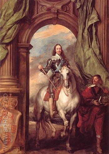 Monsieur de St Antoine 1633 - Van Dyck reproduction oil painting