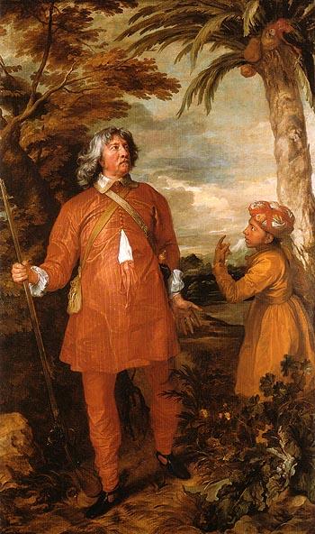 William Feilding 1st Earl of Denbigh 1633 - Van Dyck reproduction oil painting