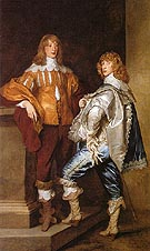George Lord Digdy and William Lord Russell - Van Dyck
