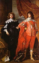 Lord John Stuart and his Brother Lord Bernard Stuart - Van Dyck