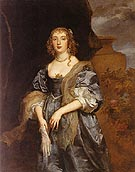 Lady Anne Carr Countess of Bedford - Van Dyck