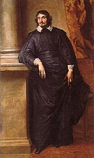 Cesare Alessandro Scaglia di Verrua Abbe of Staffarda and Mandancini - Van Dyck reproduction oil painting