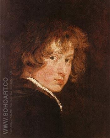 Self portrait 1613 - Van Dyck reproduction oil painting