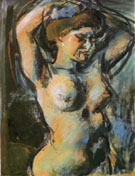 Nude with Upraised Arms 1906 - George Rouault