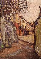 Rue Cortot Montmatre 1909 - Maurice Utrillo