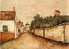 Marizy Sainte Genevieve 1910 - Maurice Utrillo