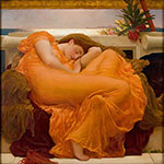 Flaming June c1895 - Frederick Lord Leighton