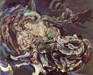 The Tempest Bride of the Wind - Oskar Kokoshka reproduction oil painting