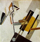 Proun 19D - El Lissitzky reproduction oil painting