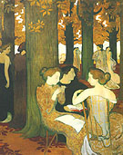 The Muses 1893 - Maurice Denis