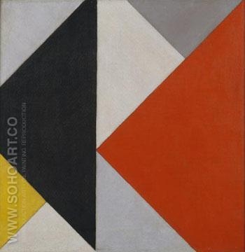 Counter-Composition XIII x 1925 - Theo van Doesburg reproduction oil painting
