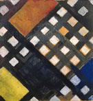 Counter Composition XI 1925 - Theo van Doesburg reproduction oil painting